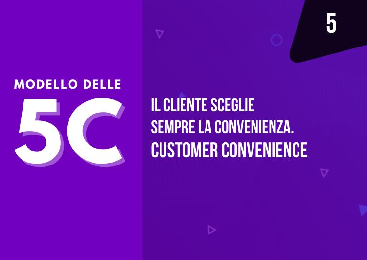 Il cliente sceglie sempre la convenienza, come creare un prodotto conveniente? customer convenience - mama industry