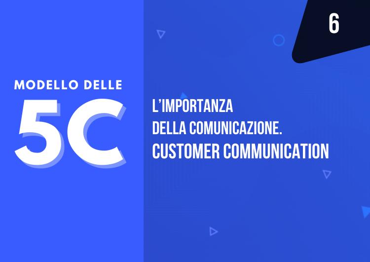 modello delle 5c - la comunicazione del prodotto al cliente - Customer Communication - mama industry