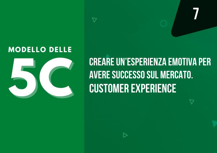 modello delle 5c - esperienza emotiva del prodotto - Customer Experience - mama industry