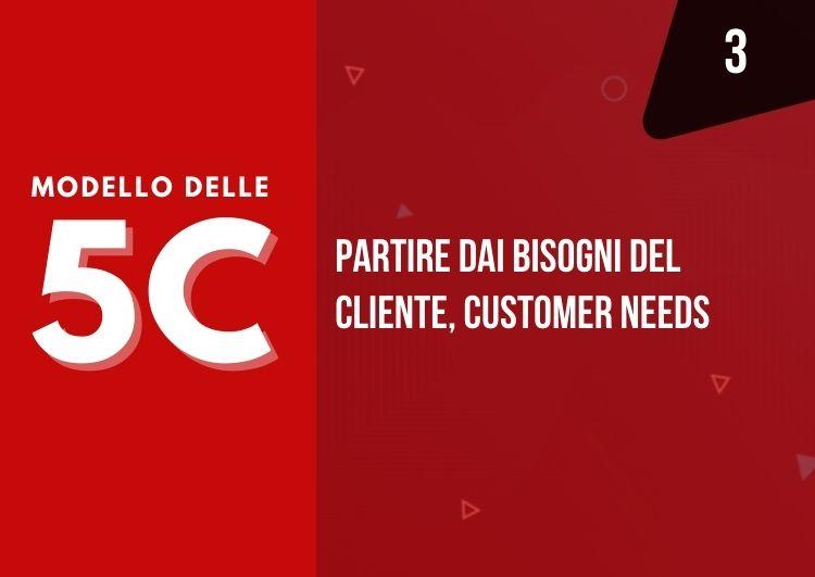 modello 5c - partire dai bisogni del cliente per progettare nuovi prodotti o servizi - mama industry