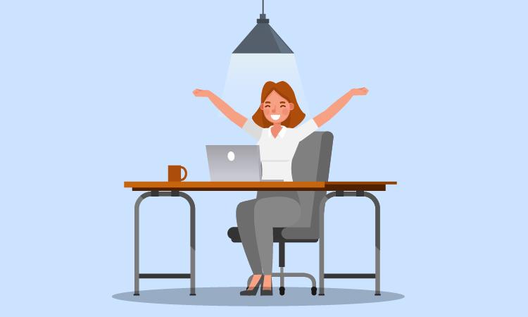 Come si deve organizzare un lavoratore in smart working - Mama Industry